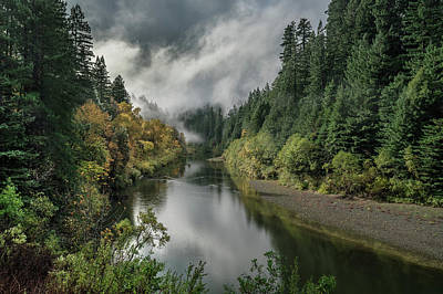 Photograph - Eel River Autumanl Glory 2 by Greg Nyquist