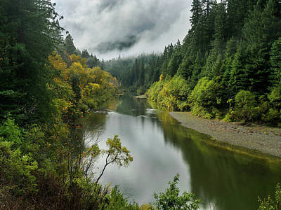 Photograph - Eel River Vista In Autumn by Greg Nyquist