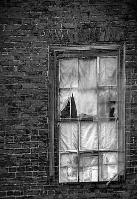 Photograph - Eerie Curtains by Jeff Kurtz
