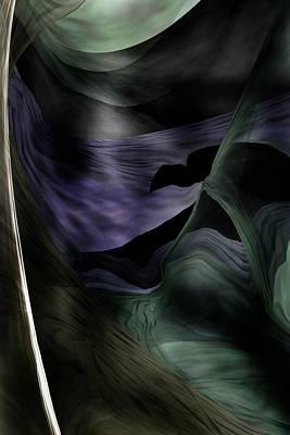 Digital Art - Eerie In The Night  by David Lane