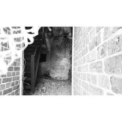 Photograph - Eerie Look Inside The Martello Tower At by Natalie Anne