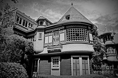 Photograph - Eerie Winchester House  by Tru Waters