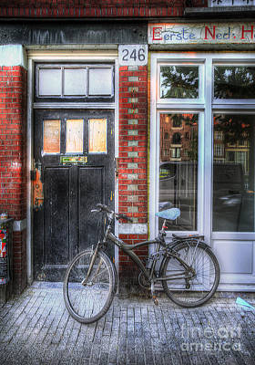 Photograph - Eerste Ned Bicycle by Craig J Satterlee
