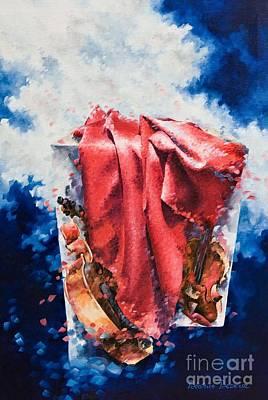 Effervescence Art Print by Beatrice BEDEUR