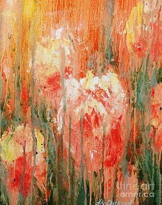 Painting - Efflorescence by Alla Dickson