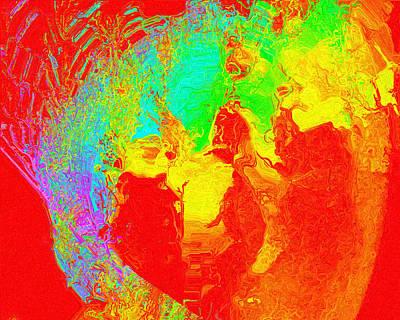 Digital Art - Efflorescence by Charmaine Zoe