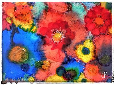 Painting - Efflorescence by Christine Paris