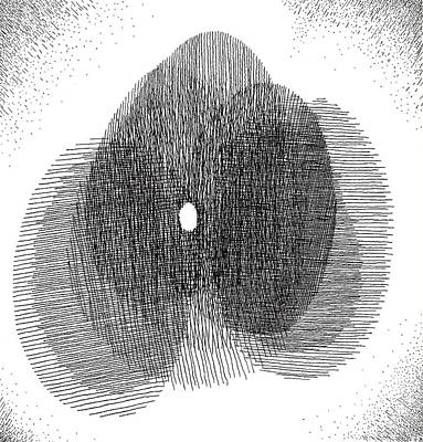 Egg Drawing 119717 Art Print
