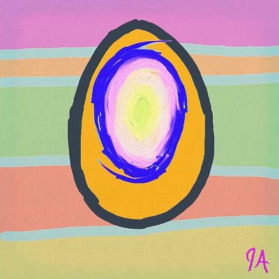 Digital Art - Egg by Jeremy Aiyadurai