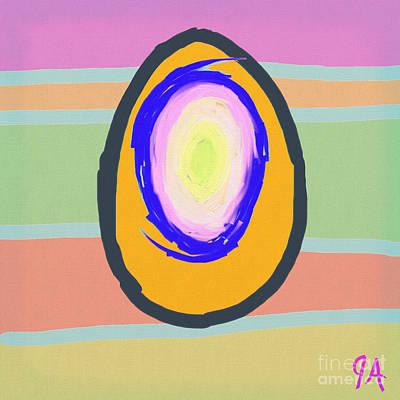 Digital Art - Egg by Jeremy Aiyadurai