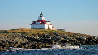 Lighthouse Photograph - Egg Rock Light by Robert McCulloch