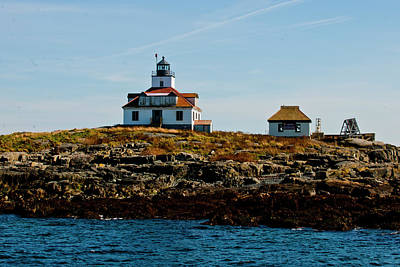 Maine Photograph - Egg Rock Lighthouse by Michael Barry