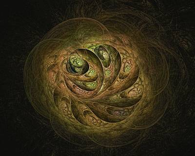 Digital Art - Egg Sacs-5 by Doug Morgan