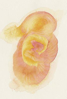 Egg - #ss16dw015 Art Print by Satomi Sugimoto