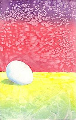 Painting - Egg by Tom Tunnicliff