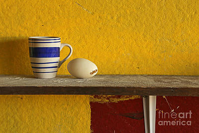 Photograph - Egg With Mug by Nareeta Martin
