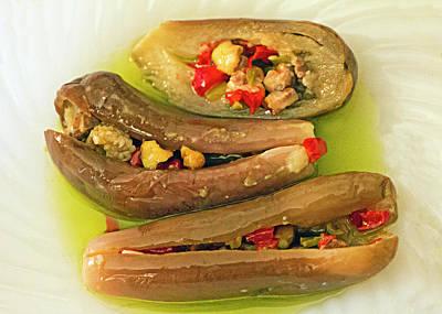 Eggplant Pickle Art Print