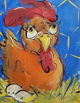 Painting - Eggs For Breakfast by Terri Einer