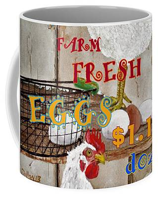 Photograph - Eggs by Michael Dillon