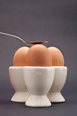 Eggs Art Print by Tom Gowanlock