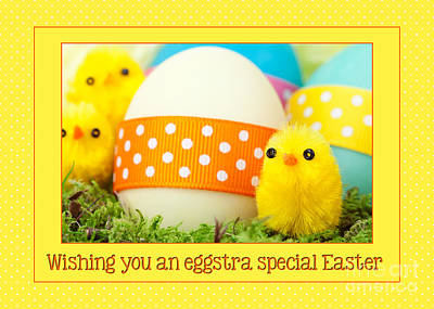Digital Art - Eggstra Special Easter by JH Designs