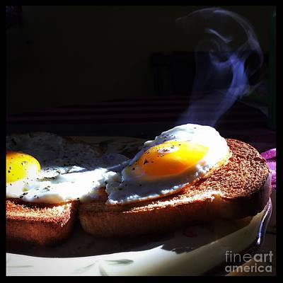 Photograph - Eggstremely Hot .... No Yoke  by Frank J Casella