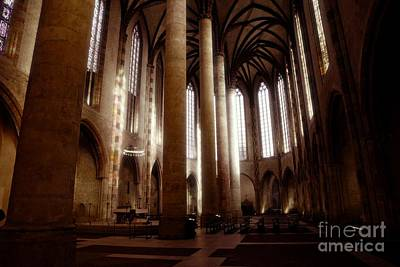 Photograph - Eglise Des Jacobins, Toulouse by Cendrine Marrouat