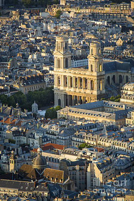 Photograph - Eglise Saint Sulpice by Brian Jannsen