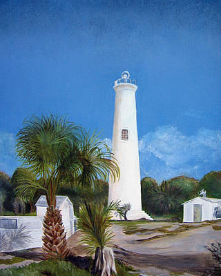 1-war Is Hell Royalty Free Images - Egmont Key Lighthouse Royalty-Free Image by Dorothy Riley