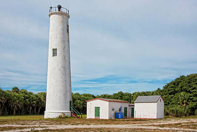 Photograph - Egmont Key Lighthouse by Jim Vallee
