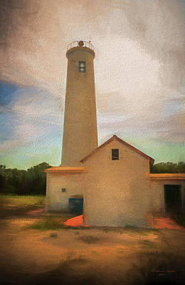 Old Fort Photograph - Egmont Key by Marvin Spates