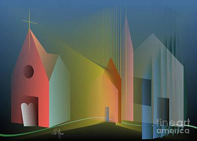 Digital Art - Ego Sum Via Veritas Et Vita by Leo Symon