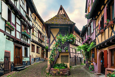 Photograph - Eguisheim Alsace France_dsc7321_16 by Greg Kluempers
