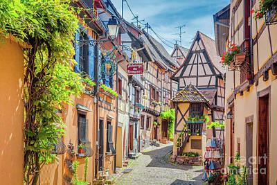 Colmar Wall Art - Photograph - Eguisheim by JR Photography