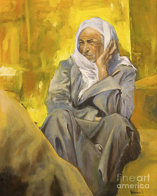 Painting - Egypitan Man by Jonathan Wommack