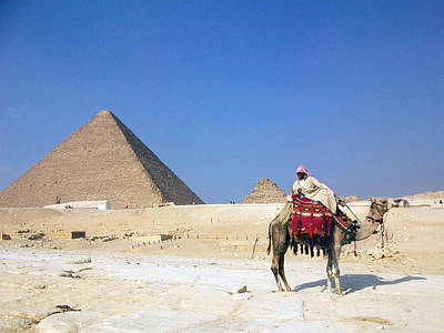 Photograph - Egypt - Pyramid by Munir Alawi