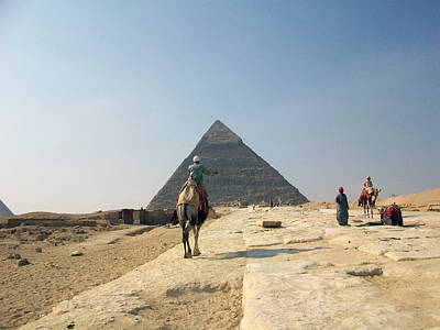 Egypt - Pyramid3 Art Print by Munir Alawi
