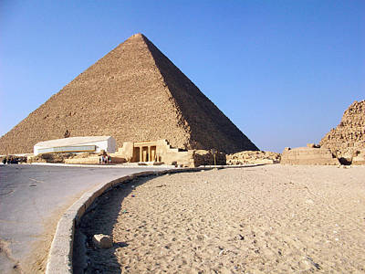 Photograph - Egypt - Way To Pyramid by Munir Alawi