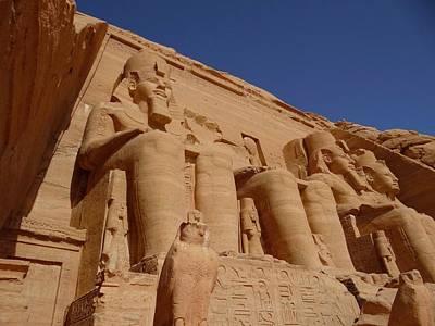 Exploramum Photograph - Egypt Abu Simbel To The Sky by Exploramum Exploramum