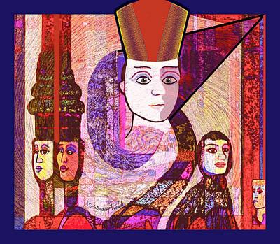 Digital Art - Egypt Fantasy by Irmgard Schoendorf Welch