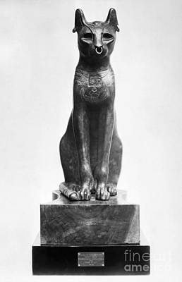 Photograph - Egypt: Goddess Bastet by Granger