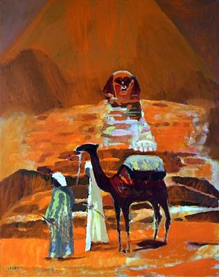 Painting - Egypt Light  by Enrico Garff