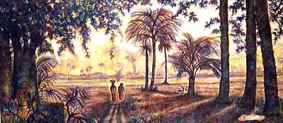 Egypt Art Print by Norma Boeckler