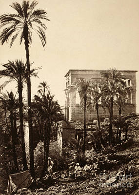 Photograph - Egypt, Philae, 1857.  by Granger