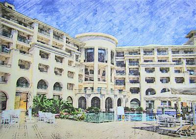Egypt - Red Sea Sinai - Hotel-stella Di Mare Art Print