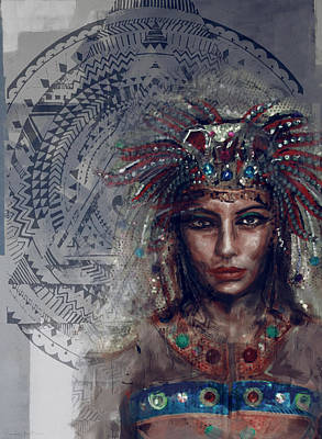 Egyptian Culture 19b Print by Mahnoor Shah