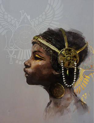 Egyptian Culture 20 Print by Maryam Mughal
