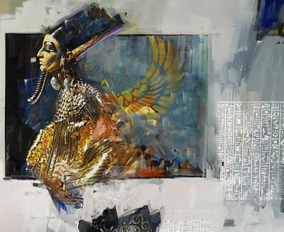 Egyptian Culture 22b Original by Maryam Mughal
