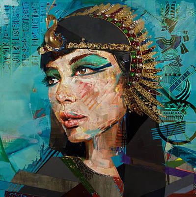 Egyptian Culture 25b Print by Mahnoor shah