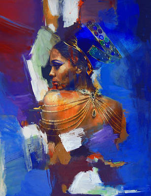 Painting - Egyptian Culture 33 by Mahnoor Shah